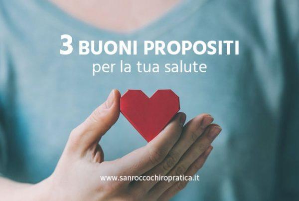 3 buoni propositi per la tua salute