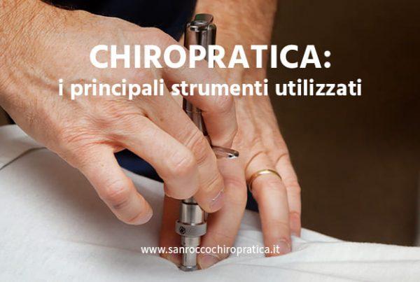 I principali strumenti chiropratici