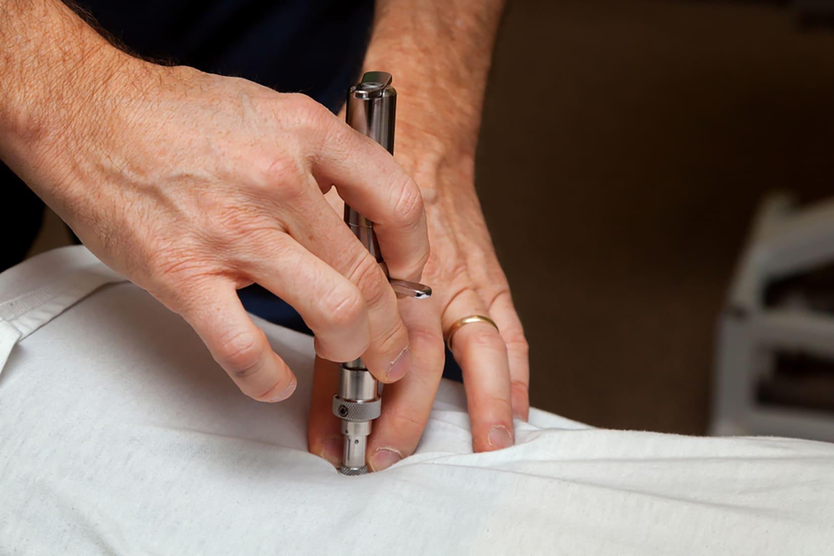 Gli strumenti del chiropratico